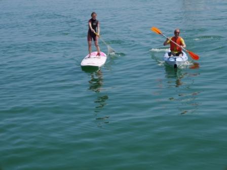 Stand up Paddle (SUP) et Kayak de l'ASN Quiberon