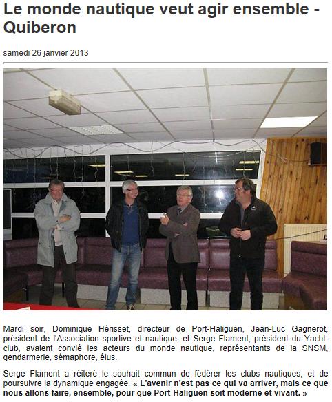 galette des rois à l'ASN Quiberon